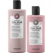 Maria Nila luminous colour shampoo 350ml & conditioner 300ml