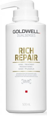 Goldwell Dualsenses. Rich repair 60sec treatment 500ml