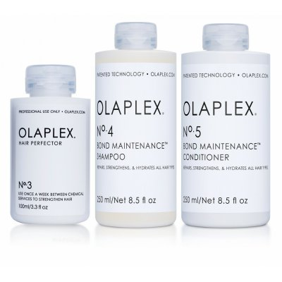 Olaplex vård kit Shampoo no4 250ml Conditioner no 5 250ml & treatment no 3 100ml