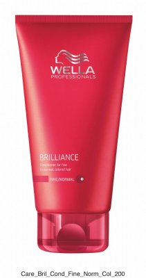 Wella Brilliance. Conditioner for fine to normal, colored hair 200ml