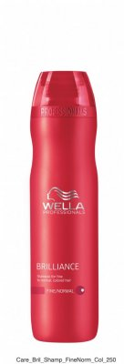 Wella Brilliance. Shampoo for fine to normal, colored hair 250ml