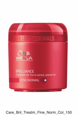 Wella Brilliance. Treatment for fine to normal, colored hair 150ml